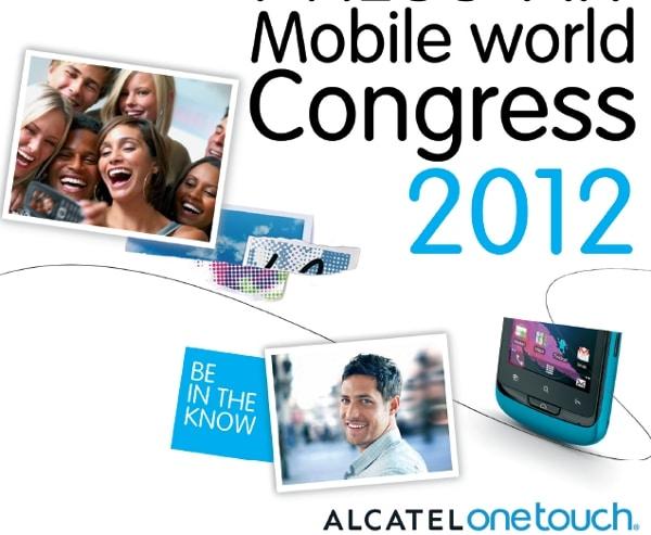 Alcatel en el MWC 2012: invasión verde