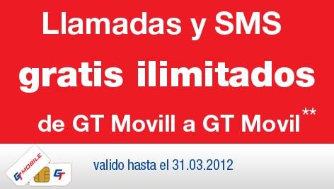 Llamadas gratis GT Mobile