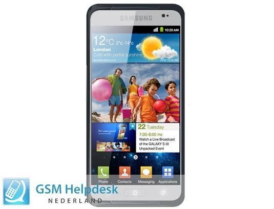 Samsung Galaxy S III i9300 foto filtrada