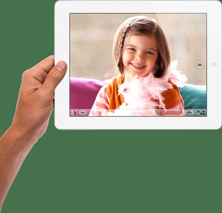 camara iSight nuevo iPad
