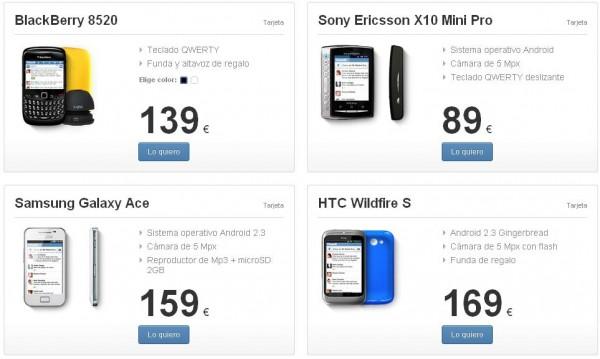móviles Tuenti móvil marzo de 2012