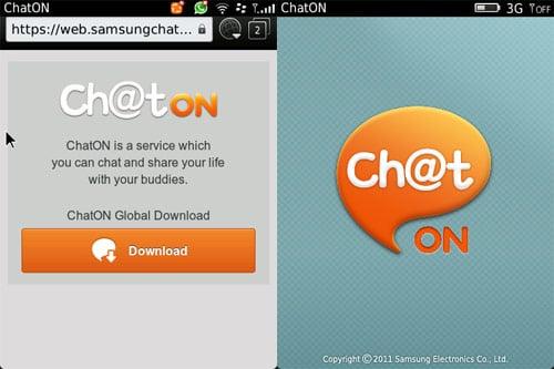 ChatON BlackBerry