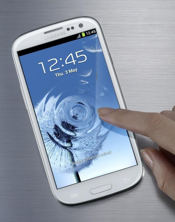 Foto Galaxy S III blanco