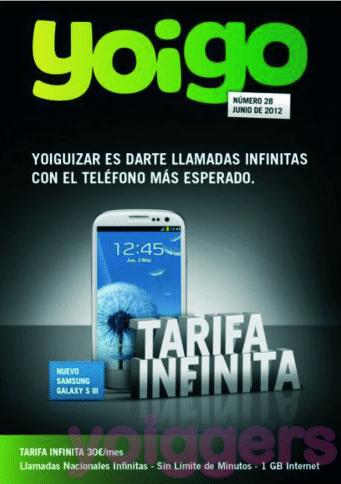 Samsung Galaxy S III con Yoigo