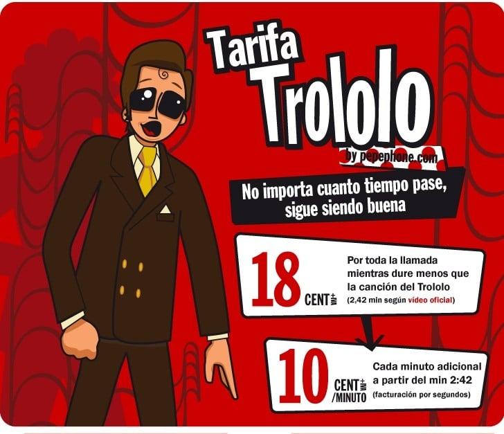 Tarifa Trololo Pepephone