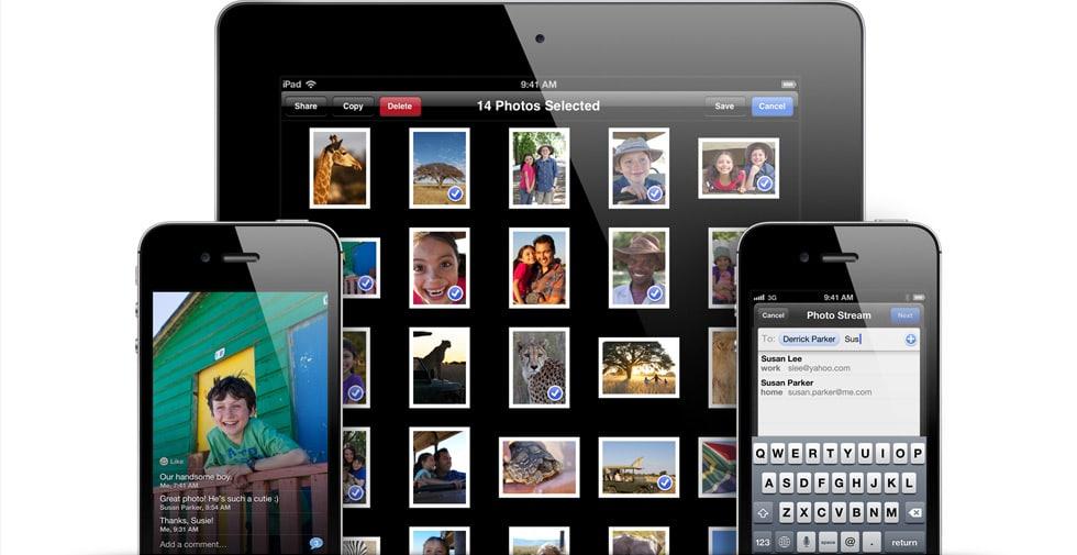 Compartir fotos iOS 6