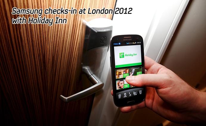 Samsung Galaxy S3 London 2012