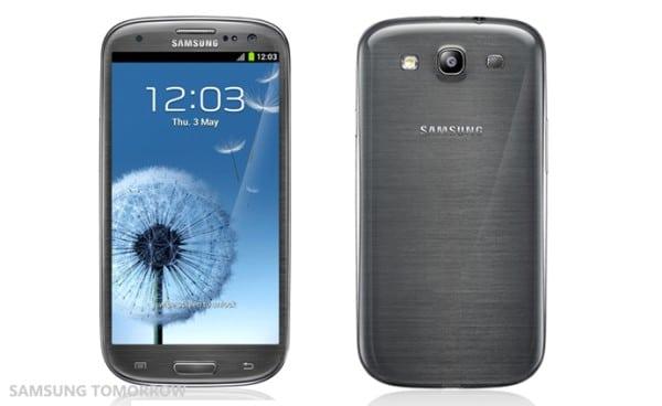 Samsung Galaxy S III gris