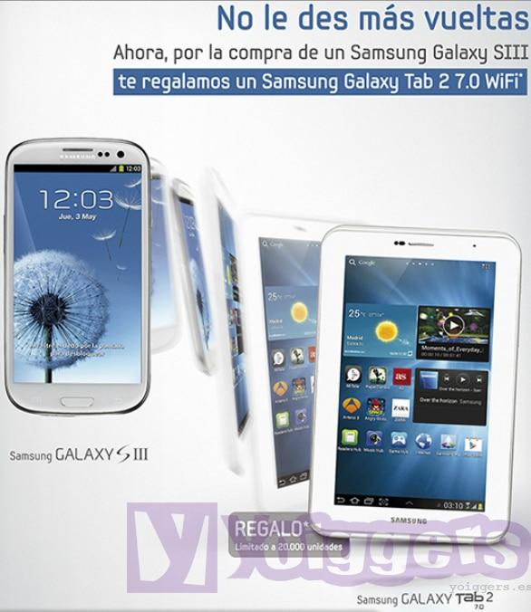 Promoción Samsung Galaxy Tab 2 7.0 con Yoigo