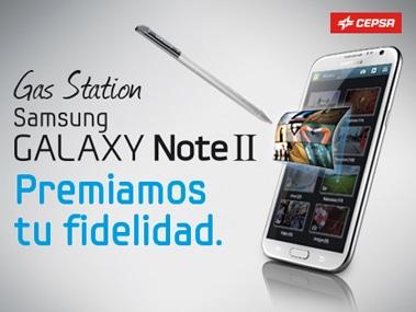 Estación de Servicio Samsung Galaxy Note II