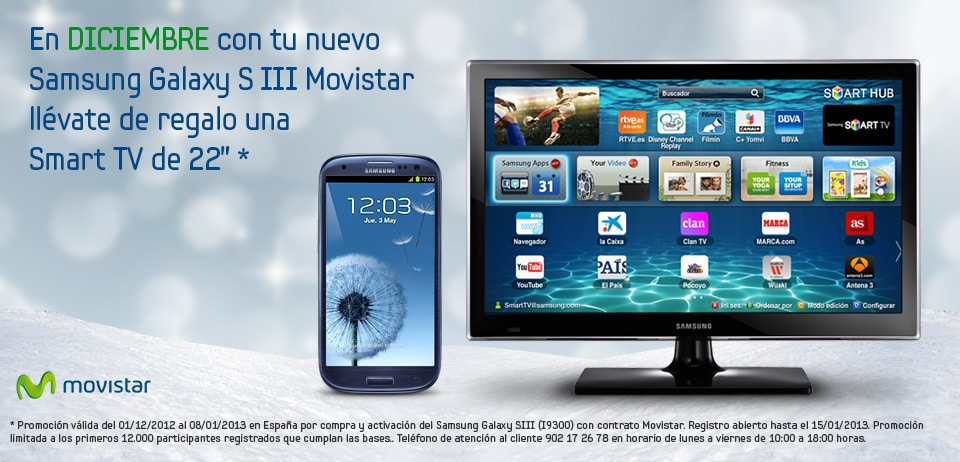 Galaxy S llI SmartTV 22 Movistar