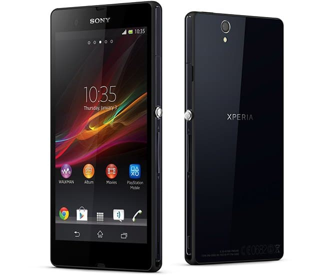 Sony Xperia Z Android