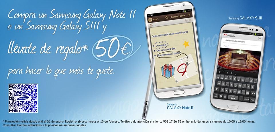 promoción Samsung Enero 2013
