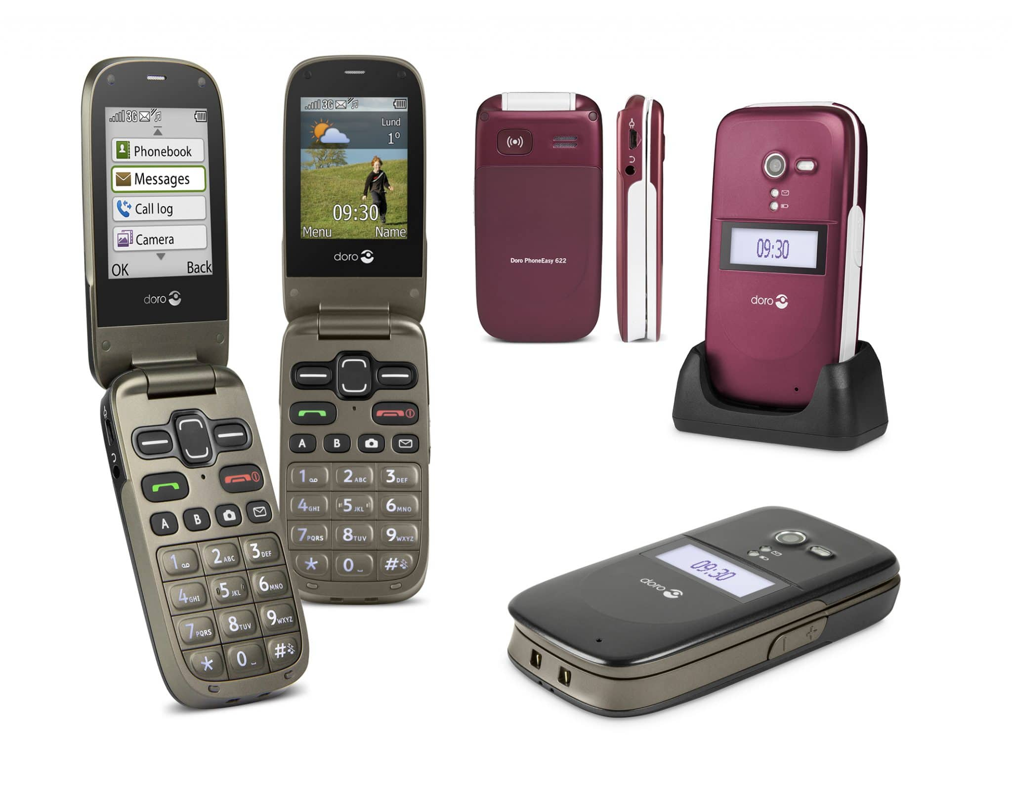 Doro PhoneEasy 622 group