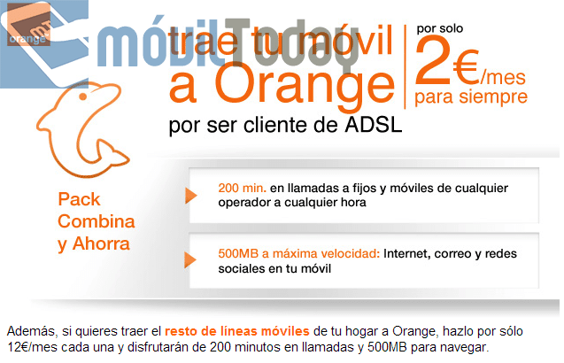 Orange pack combina y ahorra