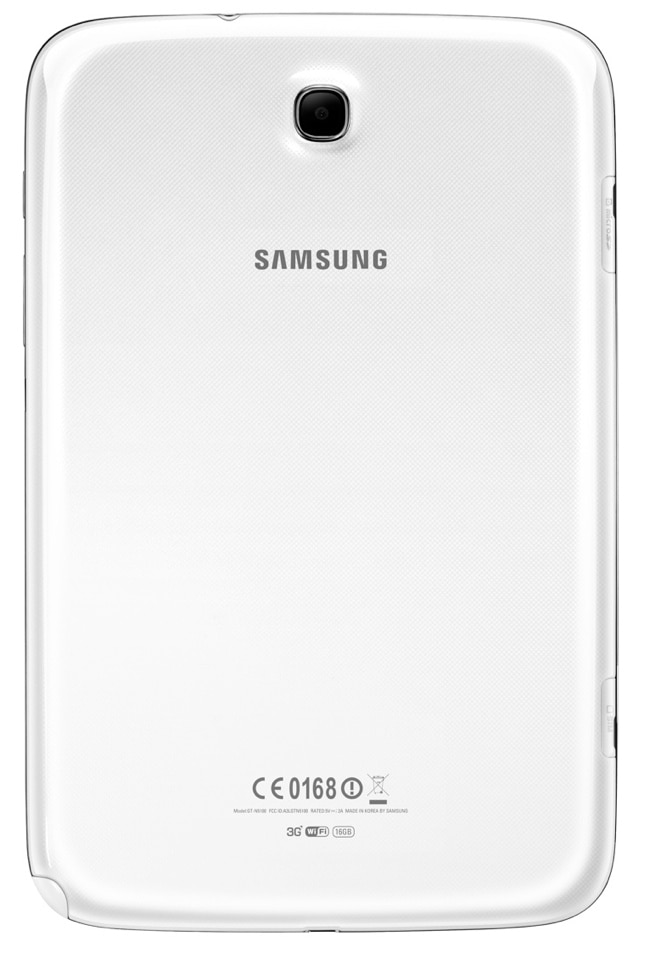Samsung Galaxy Note 8.0 cámara