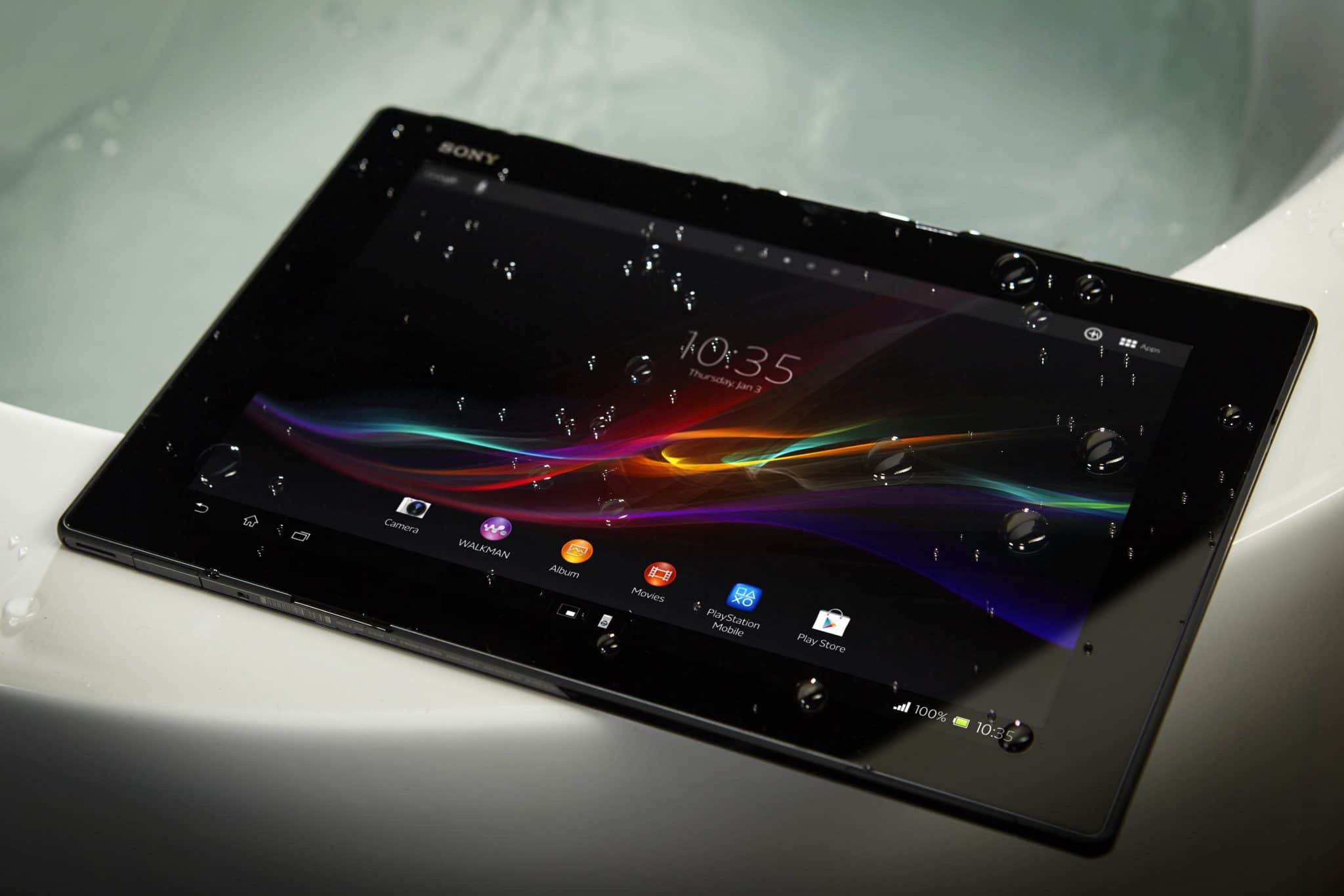 Sony Xperia Tablet Z Agua