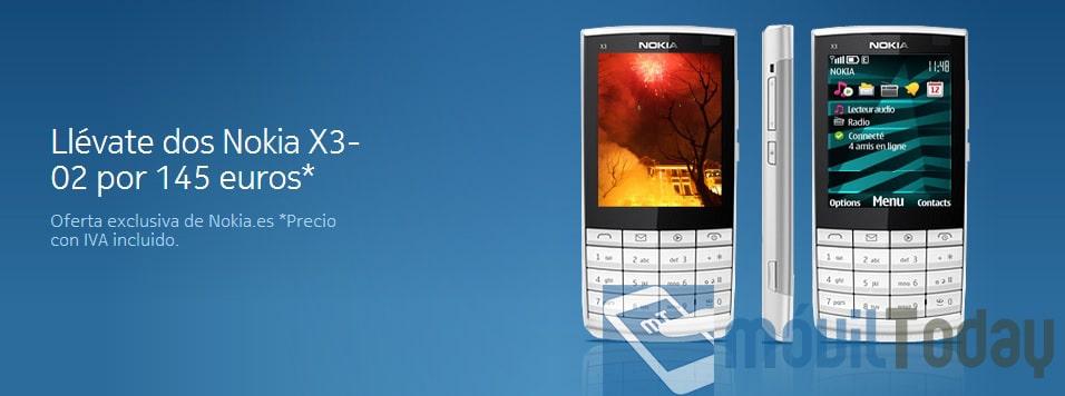 Oferta Nokia X3-02