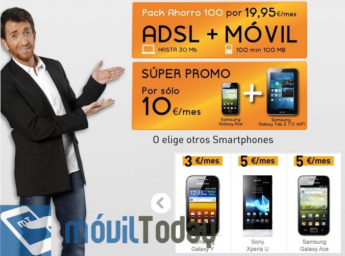 Promo Jazztel móvil y tableta
