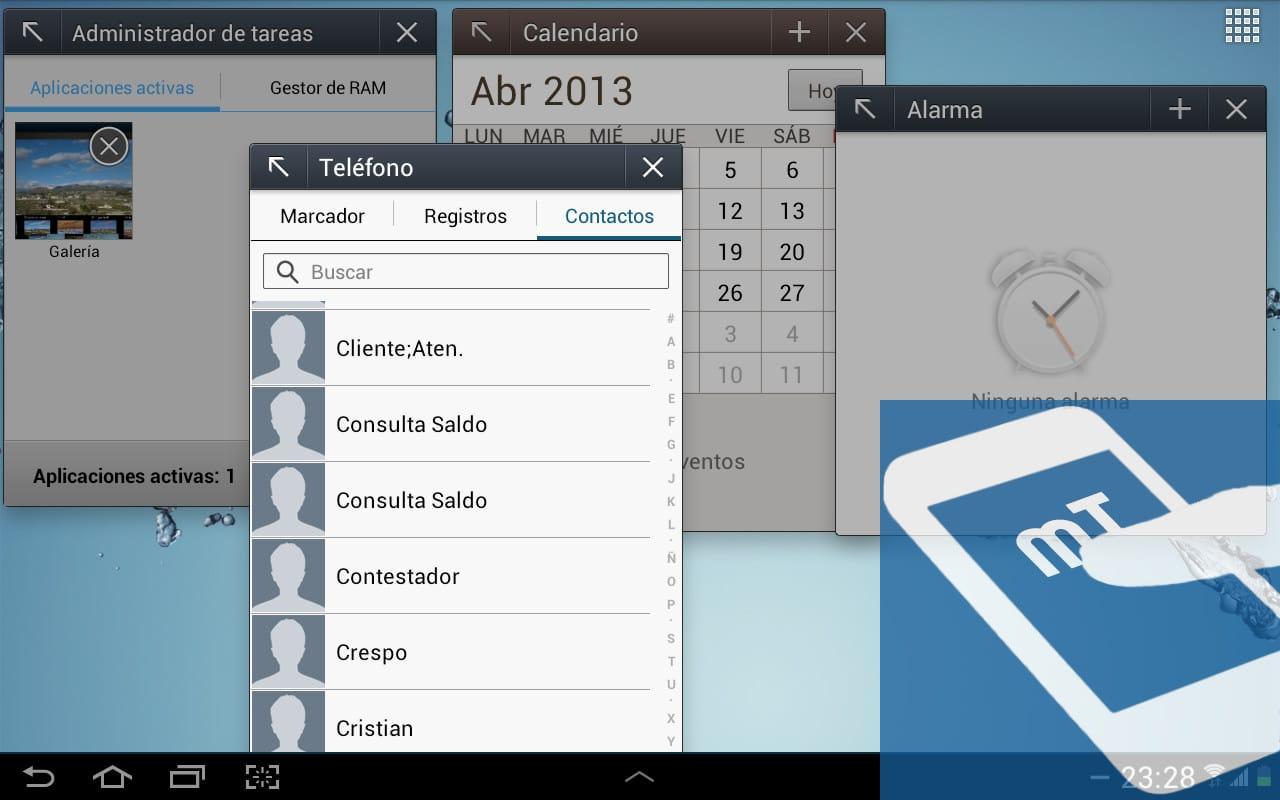 Alarma Calendario Samsung.Samsung Galaxy Tab 2 10 1 Analisis Noticias Moviles