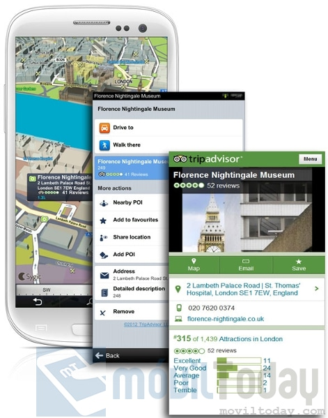 Sygic Places en Android