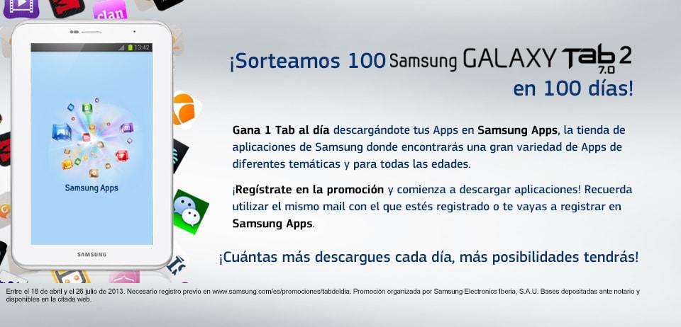 Samsung Galaxy Tab gratis con aplicaciones