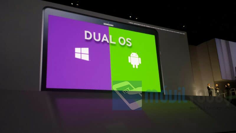 Samsung Ativ Q con Windows y Android