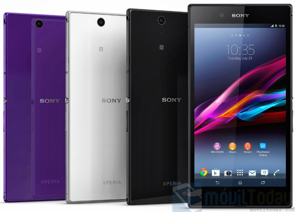 Sony Xperia Z Ultra colores