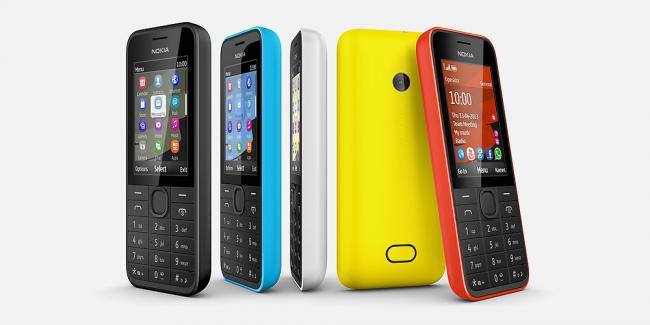 Nokia 208 colores