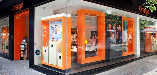 Orange tienda Valencia