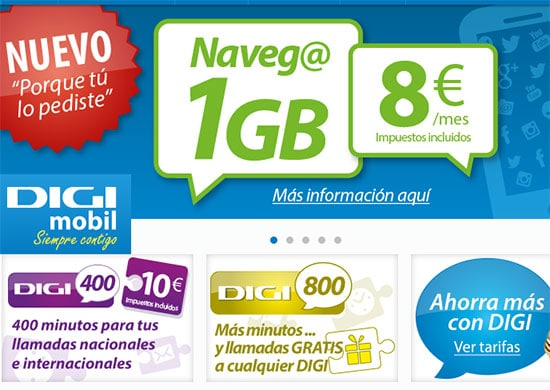 digi mobil 1 GB