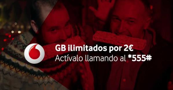 GB ilimitados Vodafone