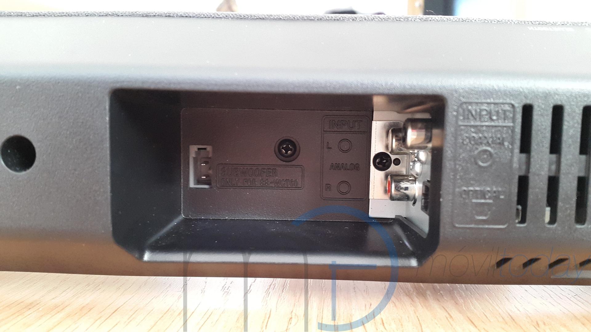 Sony HT-CT60BT barra de sonido Bluetooth