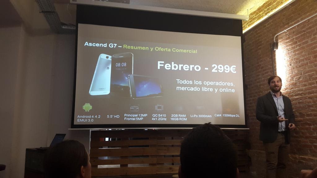 Huawei apuesta fuerte por España