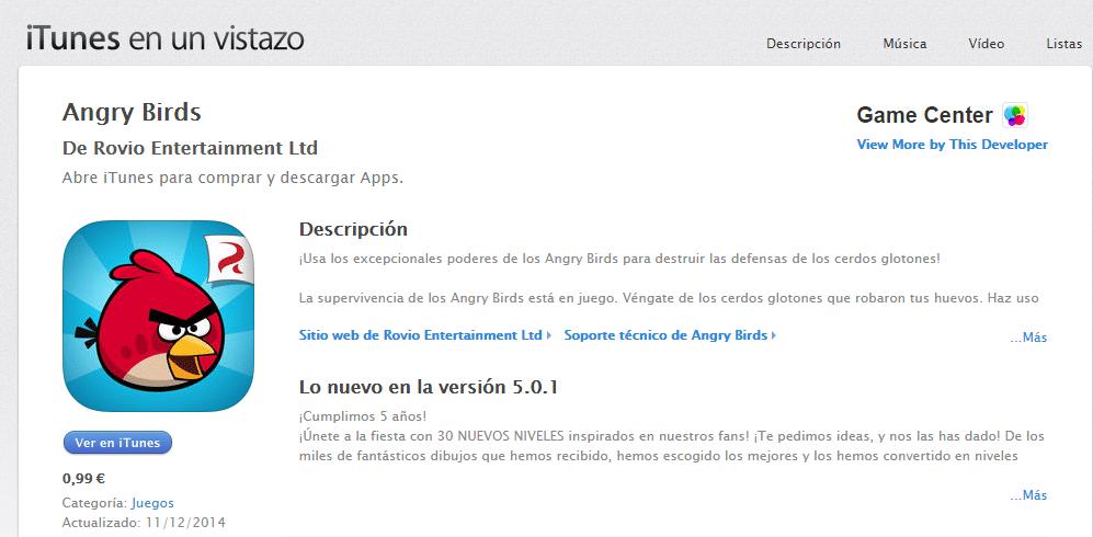 apple sube el precio de las aplicaciones a 1 euro