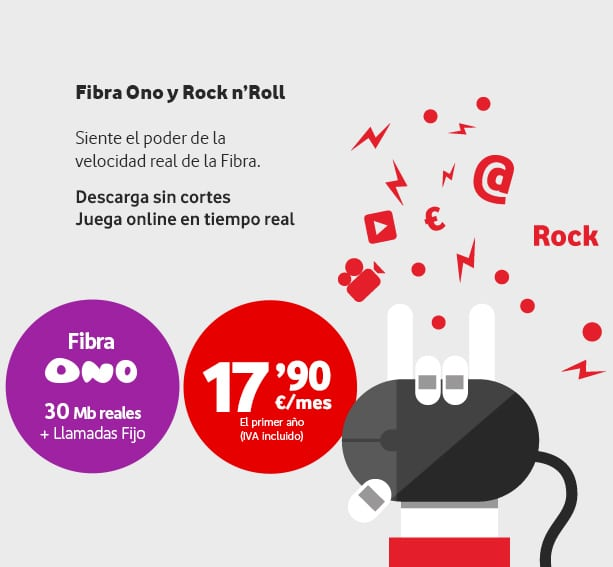 Vodafone Fibra oferta