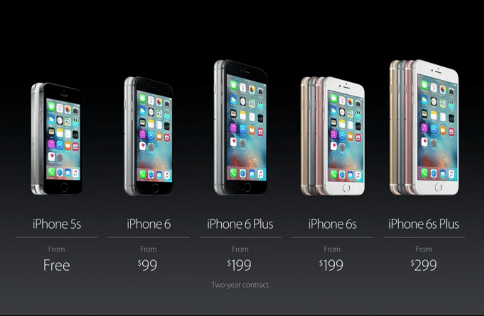 precios iPhone 2015
