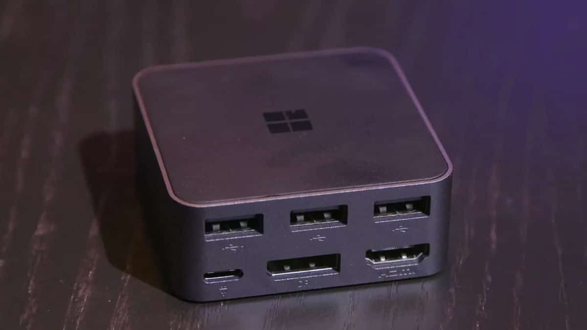 Microsoft Dock Continuum