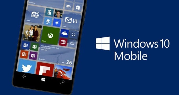 actualizar a Windows 10 Mobile