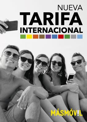 Tarifa Internacional de MÁSMÓVIL