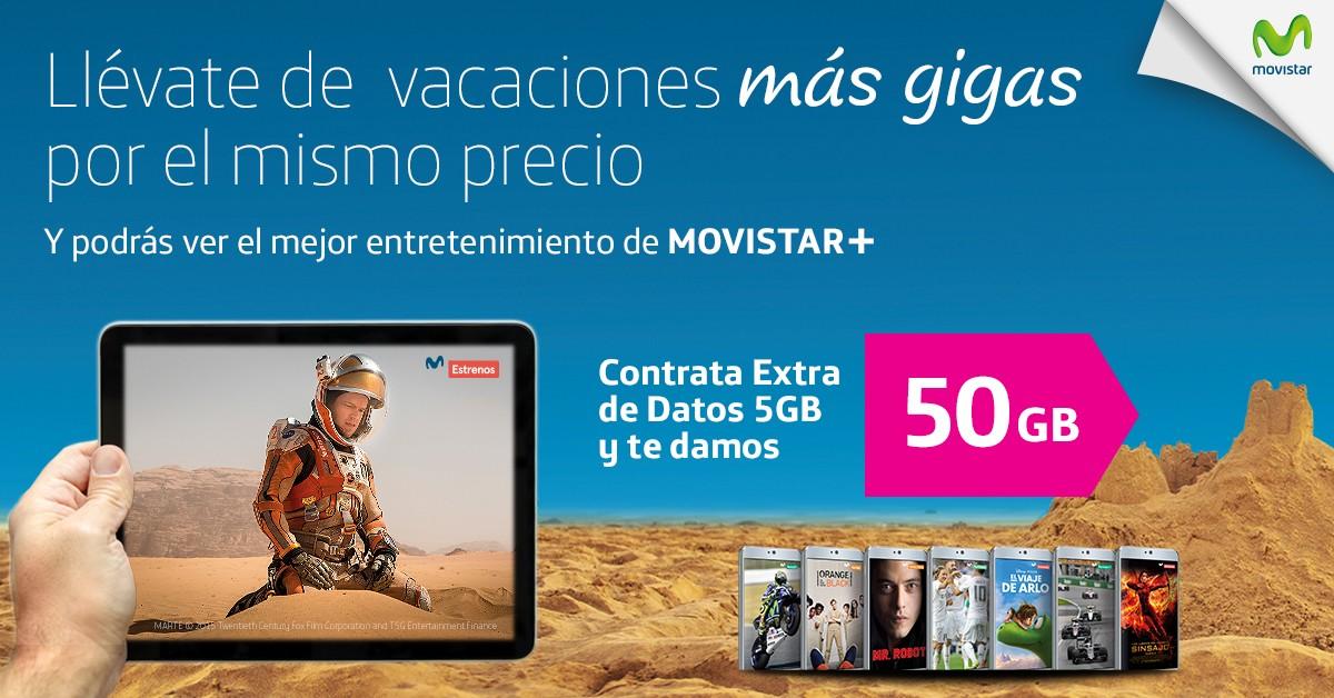 promoción de verano Movistar