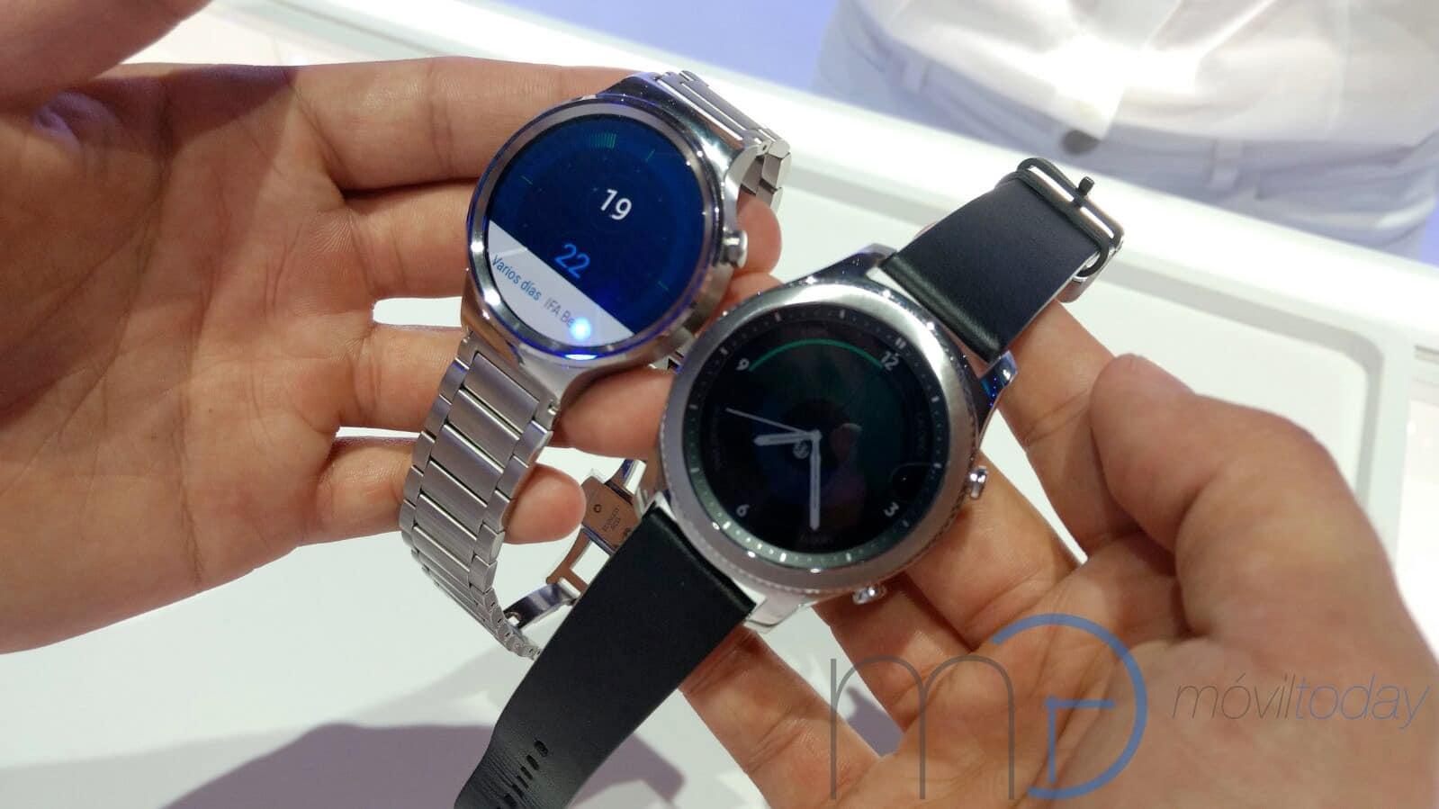 Samsung presenta los Gear S3 Frontier y Gear S3 Classic