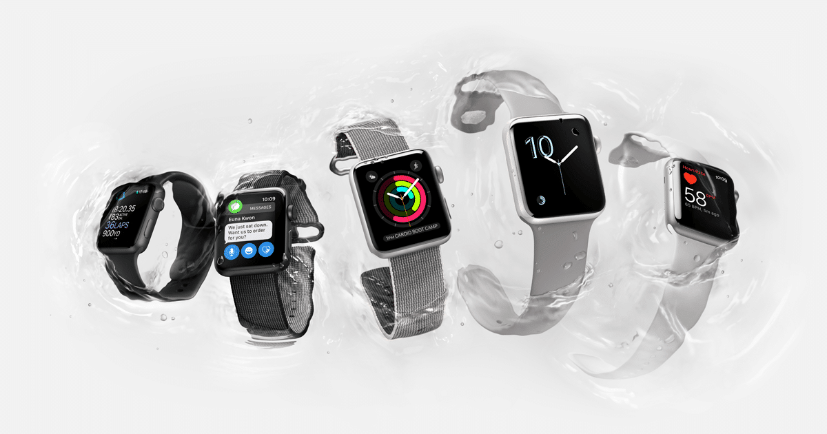 Apple Watch Series 2, con GPS y sumergible