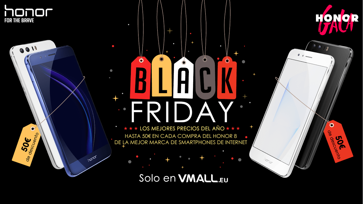 Oferta Honor Black Friday