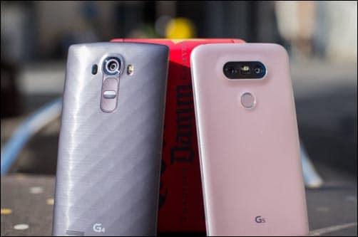 G4 VS G5 LG