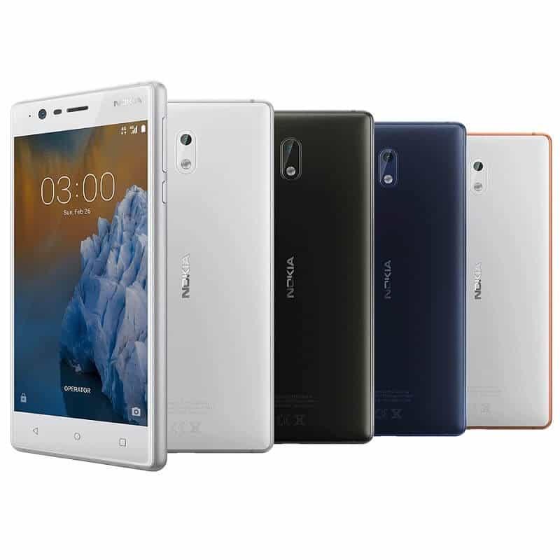 Yoigo Nokia 3 colores