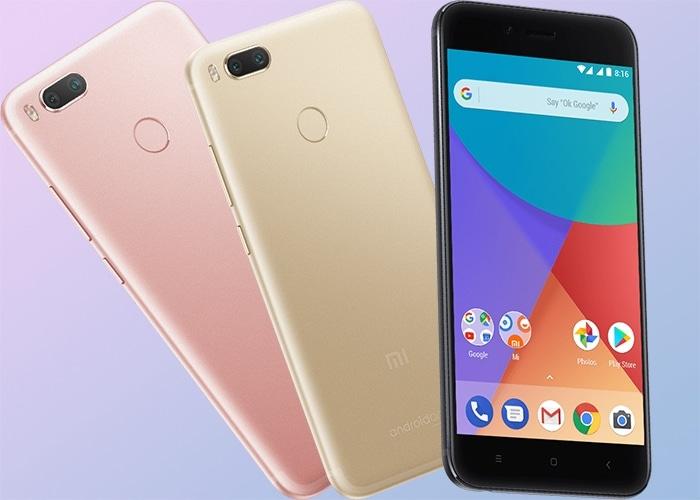 Xiaomi A1 colores