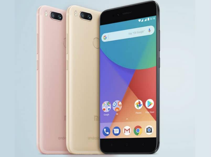 Xiaomi A1 pantalla