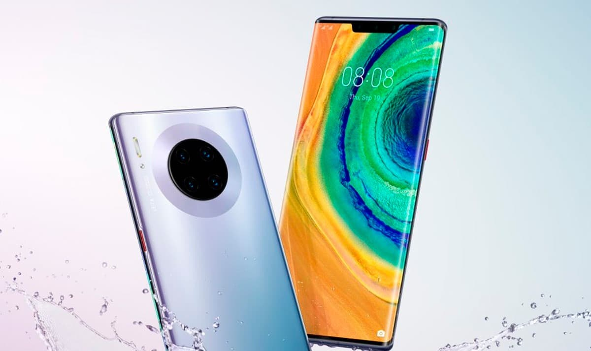 DIseño final del Huawei Mate 30