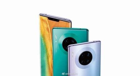 Diseño trasero del Huawei Mate 30